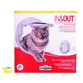 Porta basculante per cani e gatti