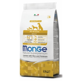 Monge Superpremium All Breeds Adult Pollo, Riso & Patate