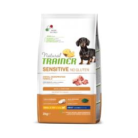 Natural Trainer Sensitive No Gluten Mini Adult con maiale