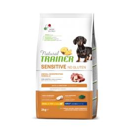 Natural Trainer Sensitive No Gluten Mini Adult con anatra
