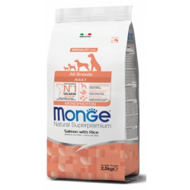 Monge All Breeds Adult Salmone con Riso