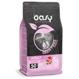 OASY GRAIN FREE FORMULA • Adult Small/Mini Maiale